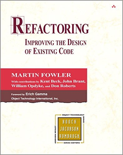Refactoring: Improving the Design of Existing Code